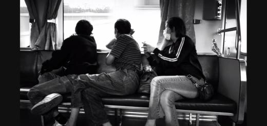 "Photographie de Lin Kuan-hsien tirée de sa vidéo intitulée ""On the road"" (Zai lushang 在路上)."