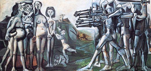 Massacre en Corée (1951) Pablo Picasso (Musée Picasso Paris)