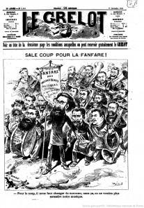 Carricature René Chauvin Jules Guesde Le Grelot2