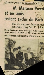 Congrès SFIO Royan article presse photo