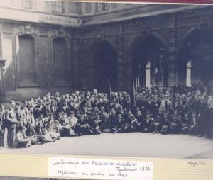 Pivert Conférence étudiants socialistes Toulouse 1932