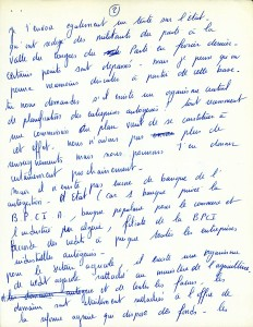 Page 3 Lettre Séverine Paraud octobre 1964