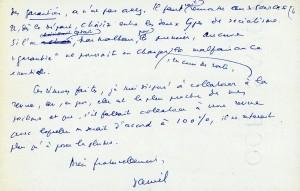 Page 4 Lettre Daniel Guérin 24 fevrier 64