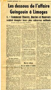 30 09 1952 dessous affaire Guingoin