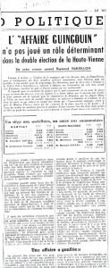 le monde 7 octobreb 1952