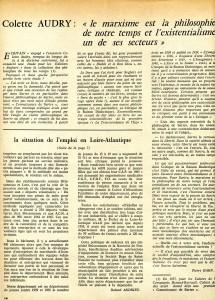 Colette Audry - Jean-Paul Sartre 1966