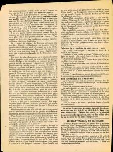 L'Insurgé n°21 Lyon Novembre 1943 - verso