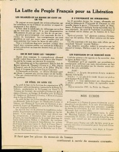 Le Peuple syndicaliste 1944 verso