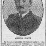 Article l'Humanité - 29 juin 1911 mort de Gaston Couté