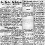 Huma - 3 novembre 1944 - Désarmement milices patriotiques