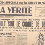 La vérité grèves 1947