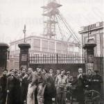 Puit n°4 de lens - Piquet grèves dures mineurs- 4 octobre au 18 novembre 1948
