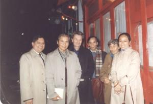 Trotskistes vietnamiens - en 1981, avec JR Chauvin et Jenny Plocki