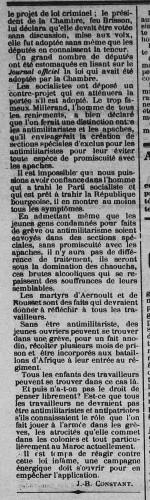 page2 L'Aube sociale  organe de la Fédération socialiste du Loiret (S.F.I.O.
