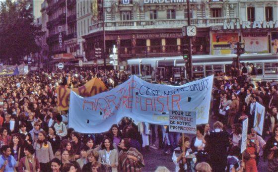 manif 1979 pour avortement libre et gratuit