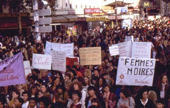 Manifestation femmes octobre 1979-0024