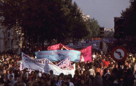 Manifestation pour le droit à l'avortement libre et gratuit, 6 octobre 1979