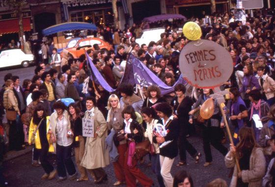 manif femmes octobre 1979 -ni pape ni... c'est aux femmes de décider