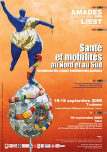 affiche colloque amades 2009