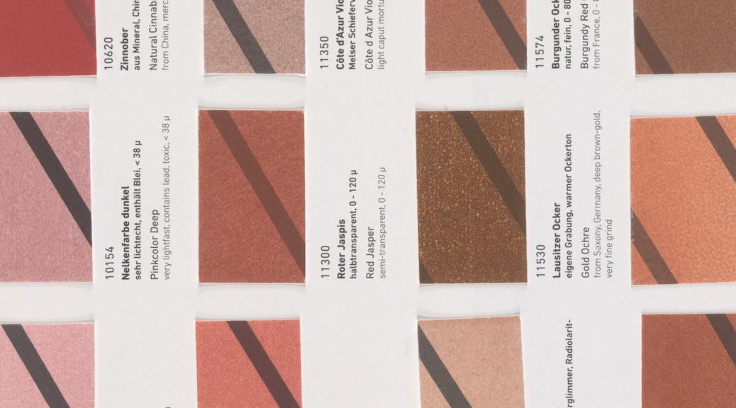 Pigment image database under UV and IR radiations | Scientific