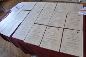 Remise des diplômes 2011