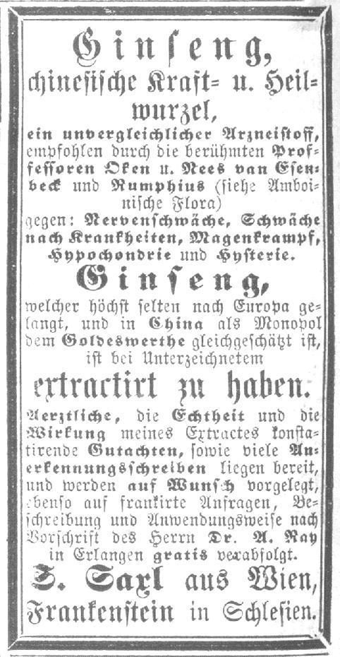 Beilage zu Nr. 13. des Figaro (22.3.1873) 6 [Ausschnitt]
