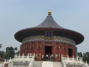 """Huangqiongyu (""""Erhabenes Gewölbe""""), Opfergelände des Himmels, Beijing - Foto: Georg Lehner"""