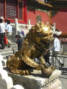lion, Qianqingmen