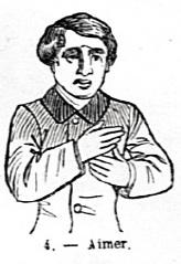 """""""Aimer"""" (Dictionnaire de Pierre Pélissier)"""