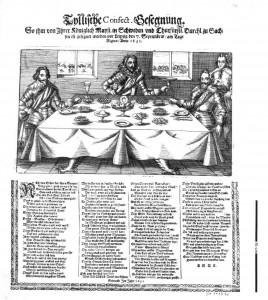 Tyllische Confect Gesegnung 1631