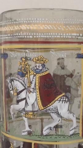 Humpen von 1611: Der Römische Kaiser (Detail)