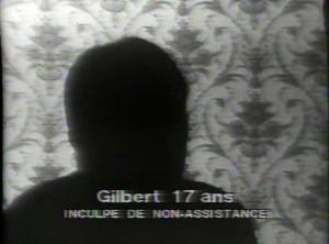 """""""Fait-divers"""" de Pierre Müller (une vidéo produite par la Maison de la Culture d'Orléans, 1978) : cette séquence permet de souligner les effets utilisés par la télévision pour stigmatiser une partie de la population."""