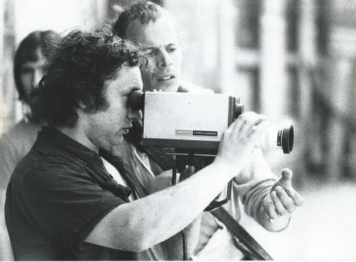 Initiation à la vidéo à la Rouen (1976) - photographie : collection personnelle de Thierry Nouel
