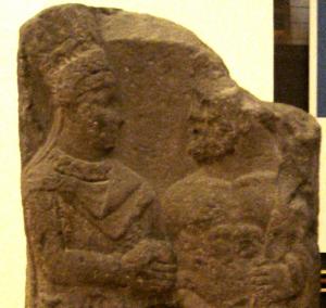 Antiochos Ier Commagène serre la main d'Héraklès
