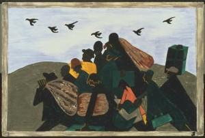 Jacob Lawrence - Migrations series (panel 3)