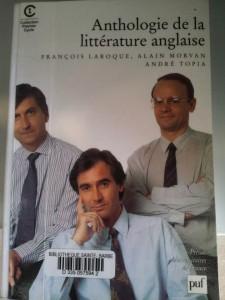 Anthologie de la Littérature Anglaise