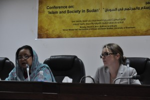 closing conference IRP program - March 4, 2013, University of Khartoum