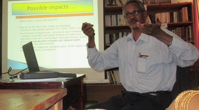 "Seminar – by Prof. Atta El-Battahani: ""Post-US Sanction Sudan: Which Way?"""