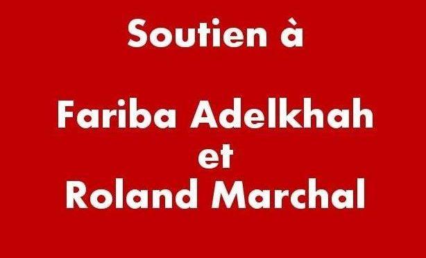 Soutien à Fariba Adelkhah et Roland Marchal