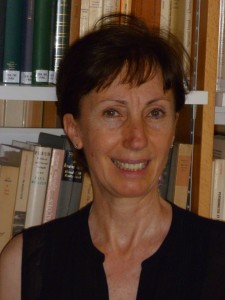 Sabah Kharrat Zouein, August 2013 at the CITL library in Arles