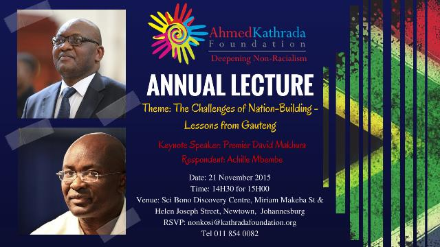 Kathrada Lecture