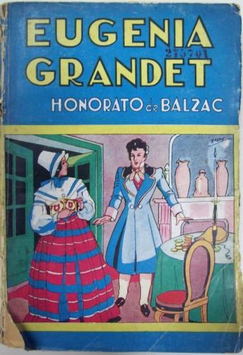 Fig. 3: Couverture de Eugenia Grandet, illustr. de Palau, Buenos Aires, Tor, 1944. (Biblioteca Nacional de la República Argentina)