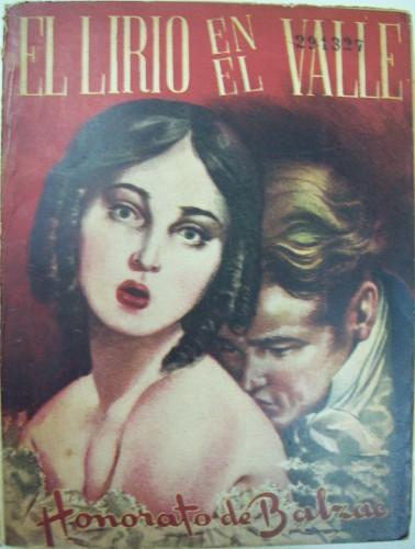 Fig. 5: Couverture de El lirio en el valle, s/nom d'illustr., Buenos Aires, Molino Argentina, 1946. (Biblioteca Nacional de la República Argentina)