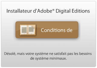 Installeur d'Adobe Digital Editions