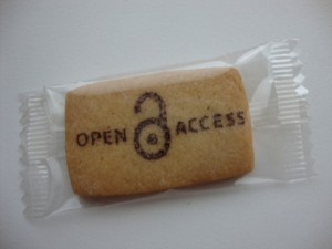Open Acces Cookie, publié sur FlickR par Biblioteekje sous licence Creative Commons Attribution, Pas d'utilisation commerciale, Partage à l'identique