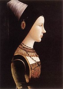 Charles the Bold's daughter, Mary of Burgundy Michael Pacher [Public domain], via Wikimedia Commons