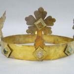 ... und die Krone aus dem Sarkophag Heinrichs VII. Quelle: Università degli studi di Pisa