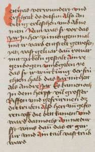 St. Gallen, Stiftsbibliothek, Cod. Sang. 646 f. 211v: Chronik von Konstanz des Gebhard Dacher, ad. ann. 1465.