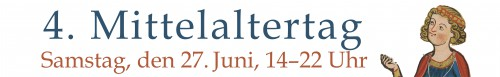 """""""Banner des Mittelaltertags 2015. Quelle: Ruprecht-Karls-Universität Heidelberg"""""""