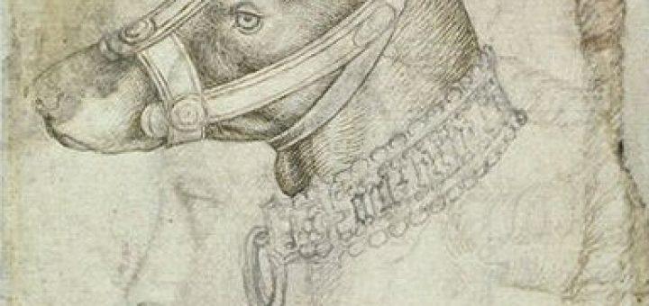 Bitte kein Maulkorb! Antonio Pisanello, Codex Vallardi, Louvre, Paris, fol. 2343v via wikimedia commons
